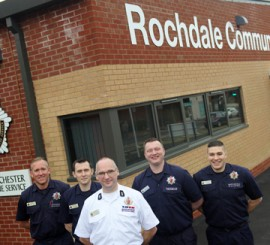 New Rochdale Community Fire Station is up and running