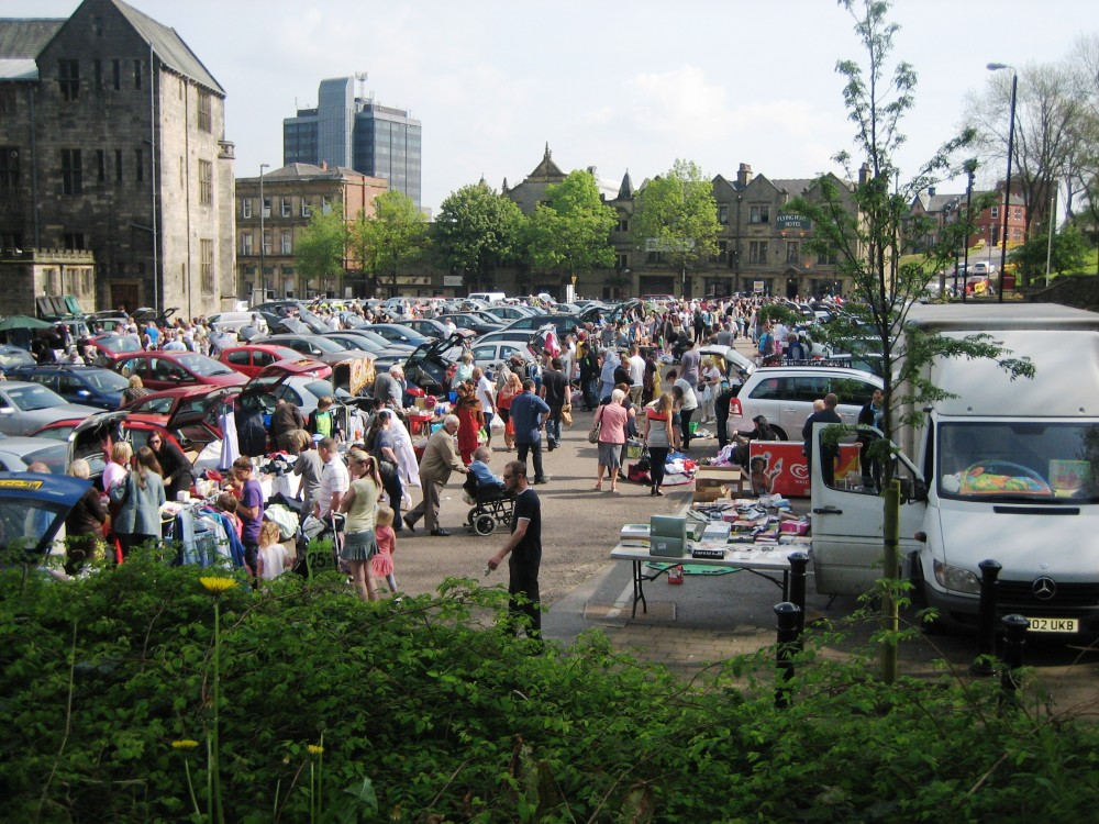 Car Boot Sale Rochdale Town Hall