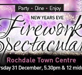 New Years Eve Fireworks - Two firework displays and family fun !