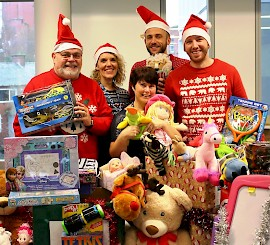 A thousand thanks – best year yet for Rochdale's Christmas Toy Appeal