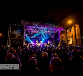 Rocking Rochdale – festival delivers the feel good factor
