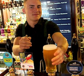 Buck Rogers – Rochdale brewer unveils new festival beer