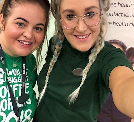 Rochdale opticians makes fundraising a piece of cake