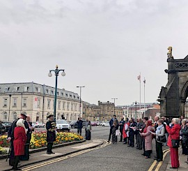 Rochdale flies the flag for St George's Day